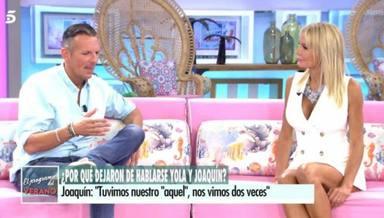 Disculpas de Yola Berrocal a Joaquín Prat