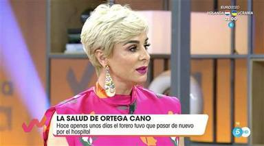 Ana María Aldón, muy preocupada ante la operación inminente de corazón de José Ortega Cano