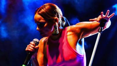 Chenoa, feliz ante su próxima actuación de este fin de semana, en la provincia de Palencia
