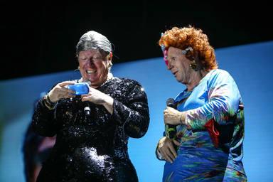 Los Morancos ponen la nota de humor con su espectáculo al Concert Music Festival