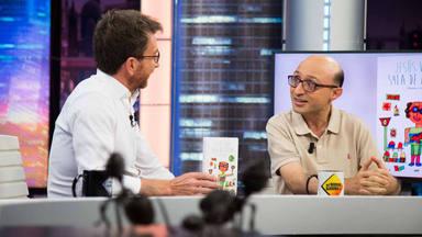 Pablo Motos y Jesús Vidal en 'El Hormiguero'