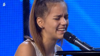Julia González, concursante de 'Got Talent', hace llorar a Edurne