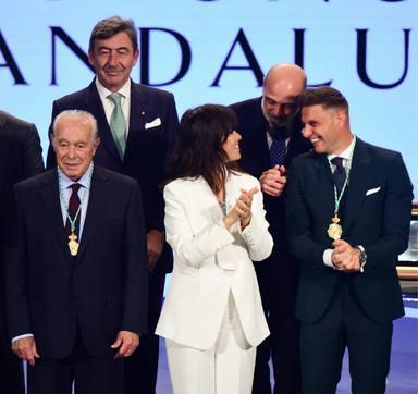 Vanesa Martín en la entrega de la Medalla de Andalucía 2020