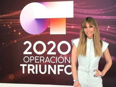 Edurne visita la academia de Operación Triunfo