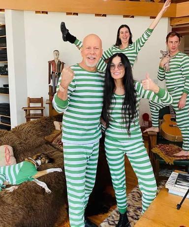 La imagen de Bruce Willis y Demi Moore que se ha convertido en viral