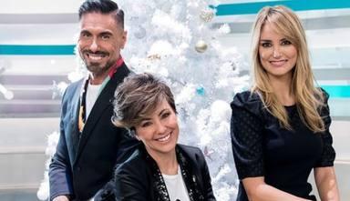 Sonsoles junto a Alba Carrillo y Miguel Ángel Nicolás
