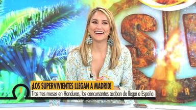 Alba Carrillo vuelve al trabajo tras su intervención quirúrgica