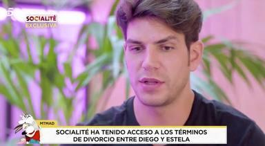 Estela Grande le reclama dinero a Diego Matamoros