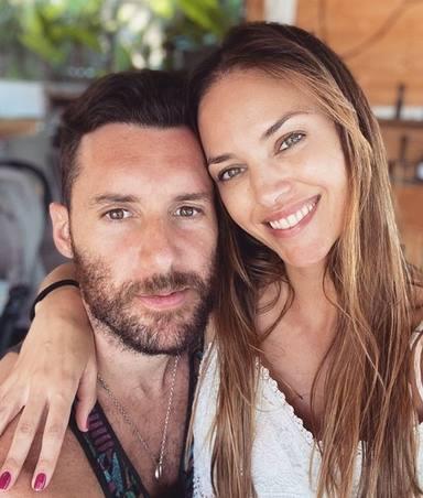 Helen Lindes y Rudy Fernández, de vacaciones muy enamorados