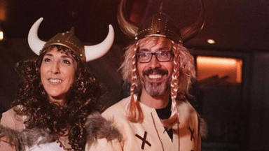 Paz Padilla y Antonio en el cumpleaños de Anna Ferrer