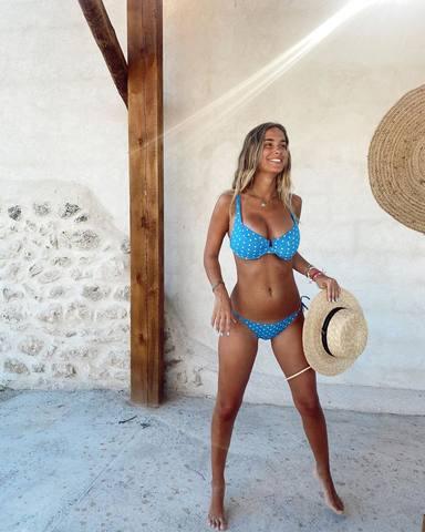 María Pombo será madre de un niño a principios de enero