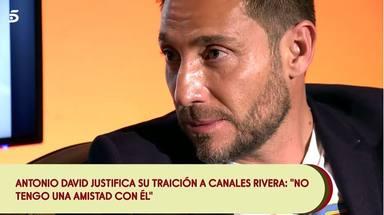 Antonio David justifica su traición a Canales Rivera