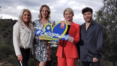 El sano reto que une a Blas Cantó, Soraya y Kate Ryan más allá de Eurovisión