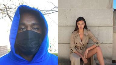 Tras su ruptura de Kim Kardashian se confirma la nueva relación de Kanye West con Irina Shayk