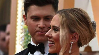 Scarlett Johansson dará la bienvenida su primer hijo junto al cómico Colin Jost