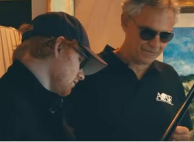 Así suena Ed Sheeran con Andrea Bocelli