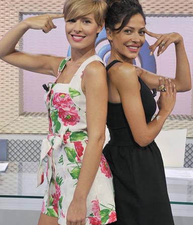 Tania Llasera junto a Patricia Pérez en Vuélveme loca