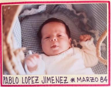 Pablo López nació el 11 de marzo de 1984
