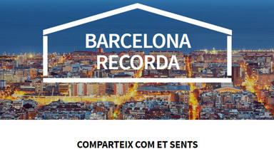 """""""Barcelona Recorda"""", un llibre virtual on expressar els nostres sentiments"""