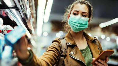 coronavirus: mascarilla utilizable obligatorio