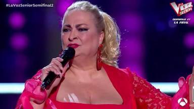 La actuación de Soledad Luna