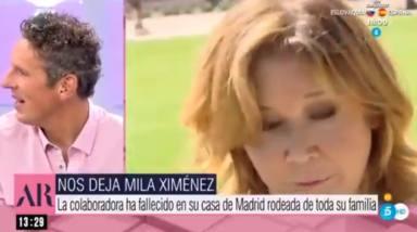 "La desgarradora despedida de Joaquín Prat de Mila Ximénez: ""Nos hemos quedado huérfanos"""
