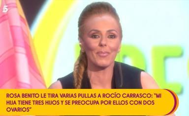 Paz Padilla responde con dureza al desplante de Rocío Carrasco detrás de las cámaras: Ella y su hija