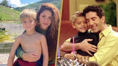 El sorprendente parecido razonable de Sasha, el hijo de Shakira, y Ben Geller, el hijo de Ross en Friends