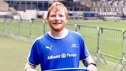 La irónica petición de Ed Sheeran al Real Madrid
