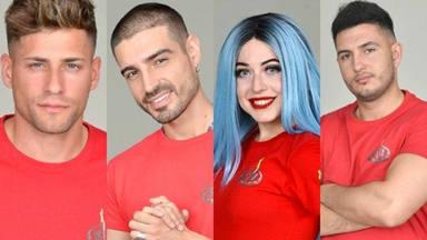 Albert, Fabio, Mahi y Omar Montes, finalistas de 'Supervivientes 2019'