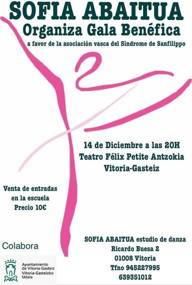 Gala Benéfica Sofía Abaitua para Sanfilippo
