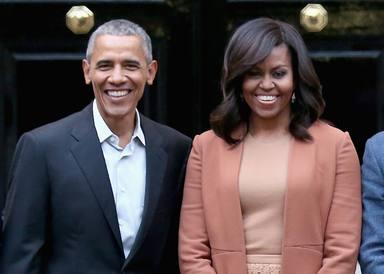 Michelle y Barack Obama, de la Casa Blanca a la carrera por el Oscar