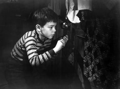 Bobby Driscoll era el niño de oro de los años 50