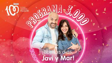 El próximo lunes ¡Buenos días, Javi y Mar! cumple3.000 programas