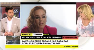 Rosa Benito, totalmente descolocada, desmiente a Rocío Carrasco en Telecinco: Como una película de terror