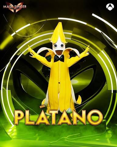 Plátano, una de las máscaras de Mask Singer 2