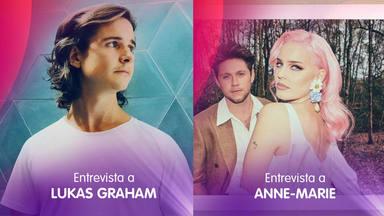 Lukas Graham y Anne - Marie estarán mañana en un CADENA 100x100 de lo más especial