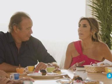 Paz Padilla lanza un dardo a los responsables de 'Got Talent' en su entrevista con Bertín Osborne