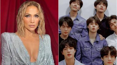 Jennifer Lopez y BTS estarían tramando una colaboración que hace enloquecer a sus fans