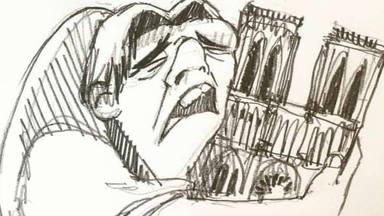 Los artistas, conmovidos por la tragedia de Notre Dame