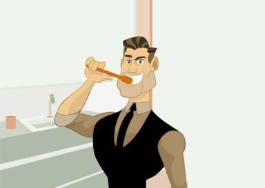 Alguns errors que comets quan et raspalles les dents