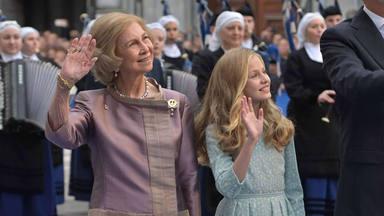 Así ha sido el primer discurso de la princesa Leonor: nervios, emoción y dedicatoria especial a su abuela