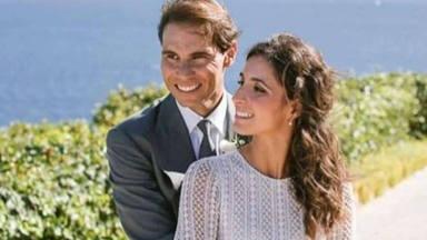 Así fue el rompedor vestido de Mery Perelló (Xisca) en su boda con Rafa Nadal