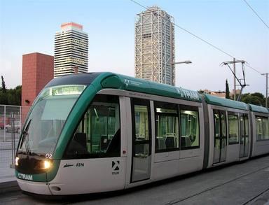 Un quilòmetre més de tramvia al tram de Diagonal