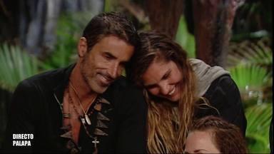 Hugo Sierra e Ivana Icardi se prometen amor eterno en Supervivientes