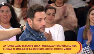 Las lágrimas de Antonio David al darse cuenta de que a su hija le afecta el distanciamiento con Rocío Carrasco