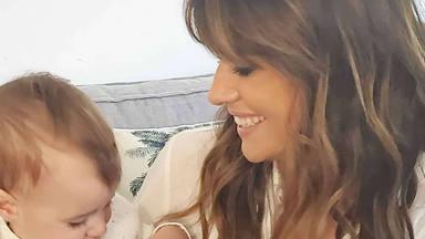Isabel Jiménez hace balance de su primer año de maternidad