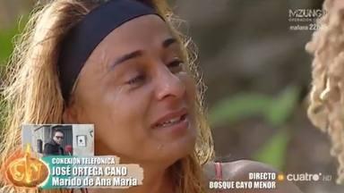Supervivientes: Ortega Cano presiona a Ana María Aldón para que se posicione al lado de Rocío Flores