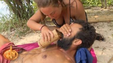 Rocío Flores ayuda a Jorge tras sufrir un mareo en Supervivientes