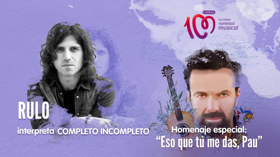 Rulo interpreta 'Completo incompleto' en el especial 'Eso que tú me das, Pau' - Música